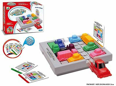 Rush Hour Traffic Jam Game Logic Game and STEM Toy for Boys and Girls Age 8