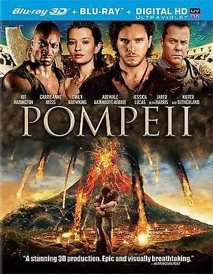 Pompeii (3D Blu-ray + Blu-ray HD) NEW Factory Sealed, Free Shipping