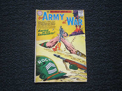 Our Army At War #128 - 1963 - origin Sgt. Rock & 1st app. Sgt. Krupp