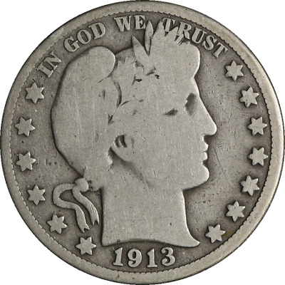 1913-P Barber Half Dollar Great Deals From The Executive Coin Company