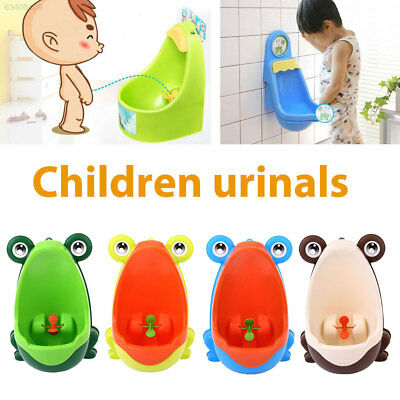 4E46 Lovely Frog Children Pee Removable Potty Training Urinal Trainer Bathroom