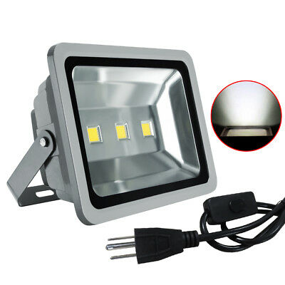 319f96cb8cef09 150W LED Flood Light Landscape Garden Yard Waterproof Floodlight IP65 Cool  White