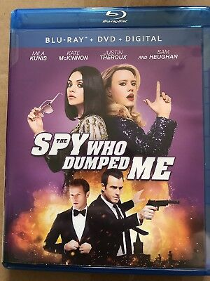 The Spy Who Dumped Me Blu-Ray/Dvd (2018) New!!!