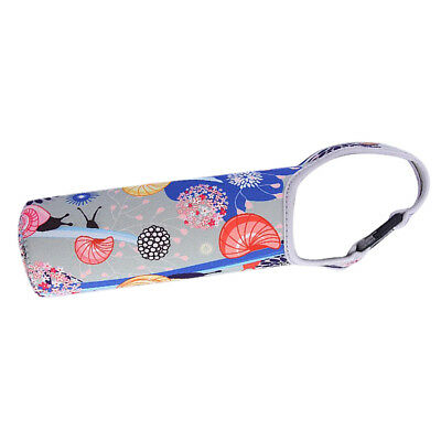 Neoprene Insulated Thermal Bottle Bag Sleeve Cover Ice Drink Camping Snail