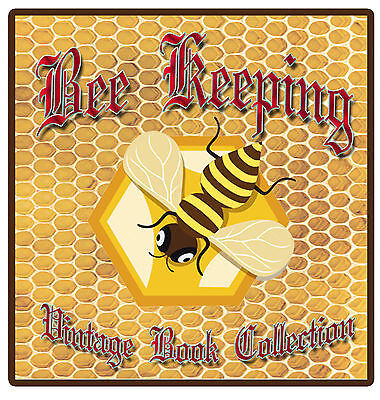 470 Rare Bee Keeping Books Guide on DVD Hive Queen Bees Honey Wax Smoker Veil E9