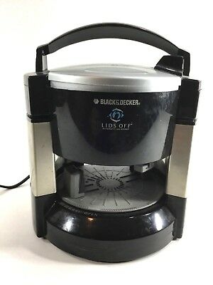 Black and Decker Lids off Automatic Jar Opener Model #JW200
