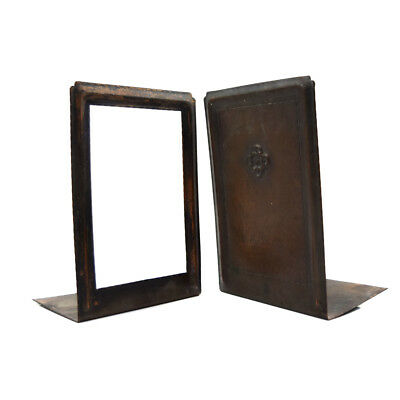 Roycroft Turn-of-the-20th-Century Copper Bookends