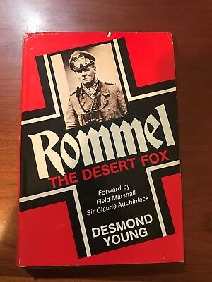 1950 ROMMEL by Desmond Young ILLUSTRATED GERMANY WW2