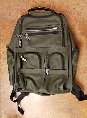 Tumi 'Alpha' Business Compact Laptop Backpack Spruce Green 26173SPOP MSRP $395