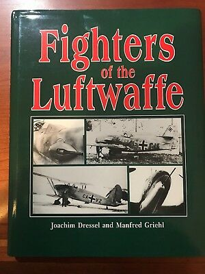 Fighters of the Luftwaffe Hardcover/Dustjacket-Only $2.25!