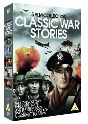 Classic War Stories - 5 Film Collection 1949 with Henry Fonda New (DVD  2012)