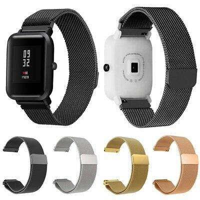 NEW Stainless Steel Bracelet Watch Band Strap For Xiaomi Amazfit Bip Youth SH