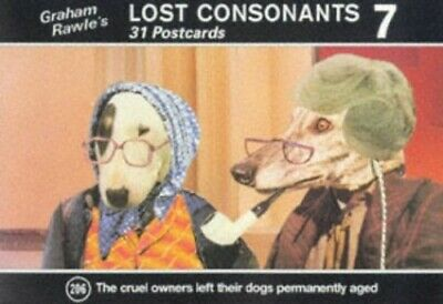Lost Consonants 7: No. 7 by Rawle, Graham Postcard book or pack Book The Cheap
