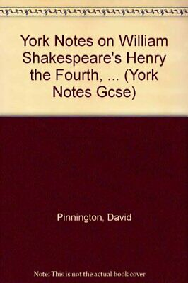 Henry IV Part 1 (York Notes) by Pinnington, David Paperback Book The Cheap Fast