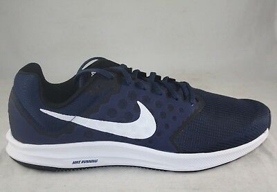 e6633f47b1e2 Nike Downshifter 7 Midnight Navy white 852459-400 Running Sneakers Size 11