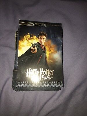 HARRY POTTER & The Half Blood Prince TRADING CARD SET 90