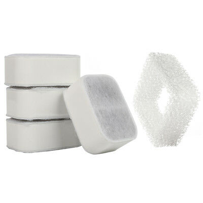 iPettie Replacement Filters for Ball Lotus Ceramic Pet Water Drinking Fountain