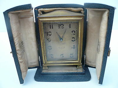 Zenith Travel Clock, Vintage, 8 Day, Vintage, Ruffell & Son