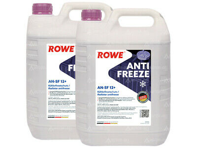 10 (2x5) Liter ROWE HIGHTEC ANTIFREEZE AN-SF 12+  Made in Germany