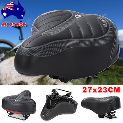 Soft Wide Bum MTB Mountain Road Bike Bicycle Seat Saddle Gel Shockproof Cushion