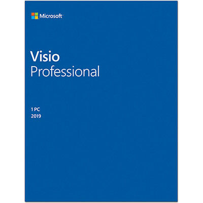 Brand New, Genuine Microsoft Visio Professional 2019 Product Key