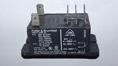 POTTER & BRUMFIELD T92S11A22-24  Power Relay