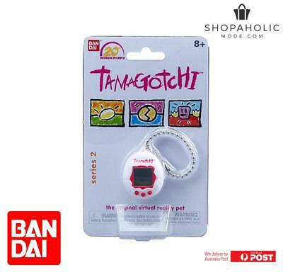 Bandai Tamagotchi 20th Anniversary Series 2 Chibi White With Red