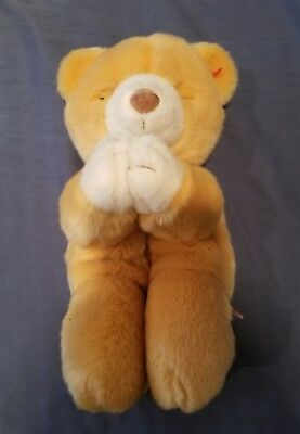 "Original Ty Beanie Buddies Babies 10"" Sitting Bear Praying Named ""Hope"" 1999"