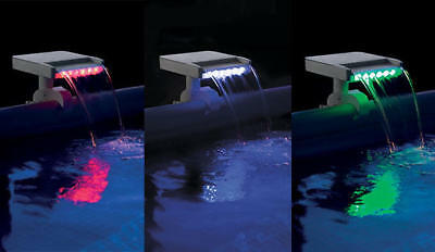Intex Multi-Color Led Wasserfall Cascade Art. 28090. Retourenware