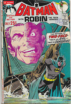 Batman #234 1st Harvey Dent Two-Face In Silver Age VF-