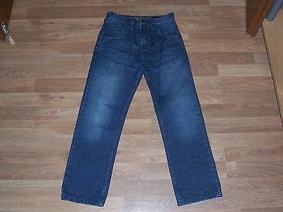 next boys dark blue jeans adjustable waist age 10 years