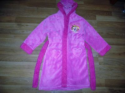 girls disney princess pink dressing grown age 6-7 years