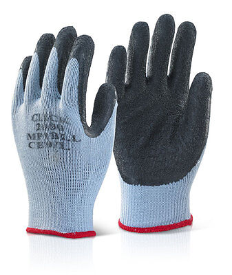MP1 Click 2000 Builders, Scaffolders Latex Grip Work Gloves 100 pairs mixed size