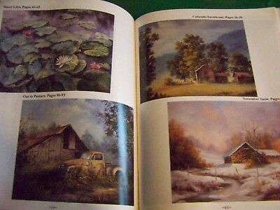 Backroads And Byways V17 Dorothy Dent 1994 Oil Landscapes Tole Paint Book