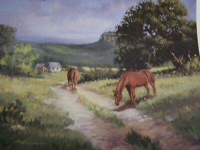 Western Images By Becky Anthony 1988 Oil Scheewe Landscapes Paint Book