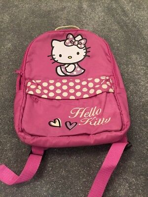 6680afde3 Hello Kitty Backpack 2 00 Picclick Uk
