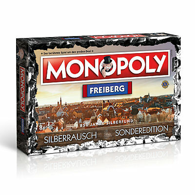 Monopoly Freiberg City Silberrausch Edition Game Party Game Board Game