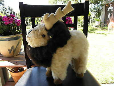 Made by our own Artisan in Peru South America Baby Alpaca Fur Moose 614-5