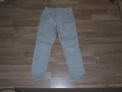 next girls beige trousers age 7 years