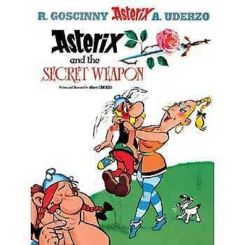 Asterix: Asterix and the Secret Weapon by Albert Uderzo New Hardback Book