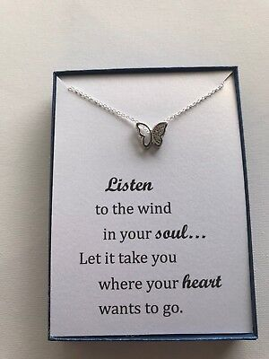 Silver Plated Tree Of Life Pendant Necklace with Inspirational Poem