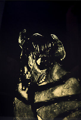 """Fritz Scholder (1937-2005) - Buffalo (from the """"Ampao Suite""""), Lithograph 89/160"""