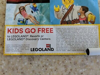 LEGOLAND Kids Go Free Discount Code Emailed to You Same Day