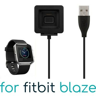 USB Charging Cable for FITBIT BLAZE Band Bracelet Wristband Charger Lead