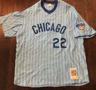 bcdc6ea19 ... wholesale mitchell ness cooperstown authentic chicago cubs bill buckner  jersey men 3xl 88a90 1daba
