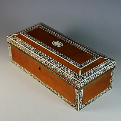 Antique Rectangular Anglo Indian Vizagapatam Box
