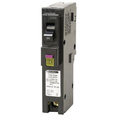 Square D Homeline HOM120PDFC 20A Dual Function Plug In Circuit Breaker NOP