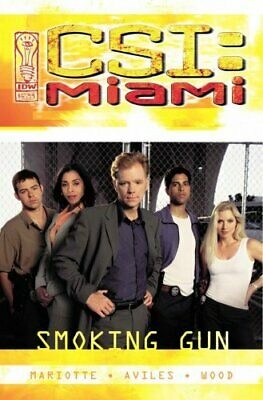 CSI Miami: Smoking Gun by Mariotte, Jeff Book The Cheap Fast Free Post