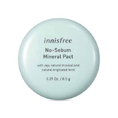 Innisfree No Sebum Mineral Pact 8.5g Korea Beauty Cosmetic Free shipping