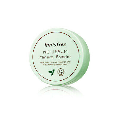 Innisfree No Sebum Mineral Powder 5g Korea Beauty Cosmetic Free shipping